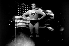 adventures superman flag