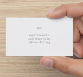 you plus one card